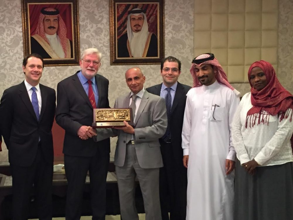 Dr. Adrian Hopkins Receives Prince Abdulaziz Bin Ahmad Al Saud Prevention of Blindness Award
